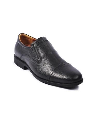 Ayakmod 692 Siyah Erkek Hakiki Deri Ayakkabı Siyah